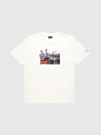 Diesel - VE-T-JUST-RIALTO, Blanc - T-Shirts - Image 1
