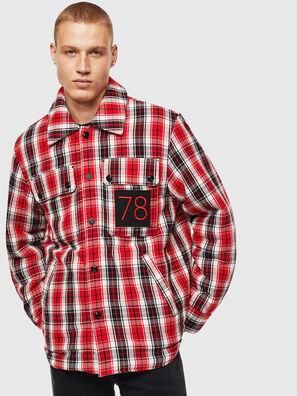 S-JOHNS, Rouge/Noir - Chemises