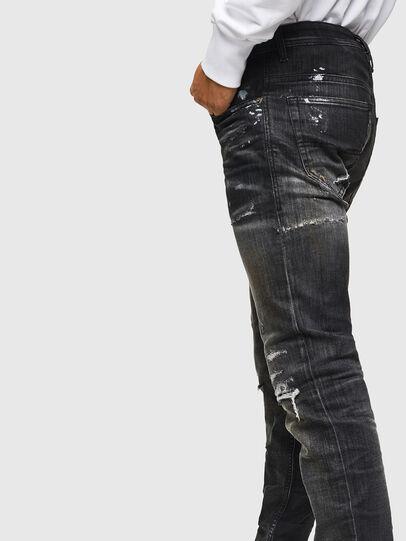 Diesel - Thommer JoggJeans 0098E, Noir/Gris foncé - Jeans - Image 4