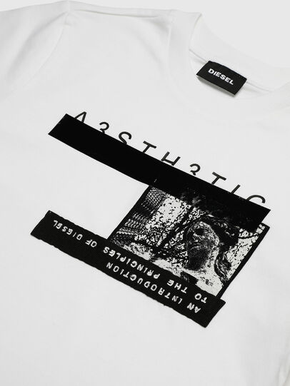 Diesel - TJUSTYP, Blanc - T-shirts et Hauts - Image 3