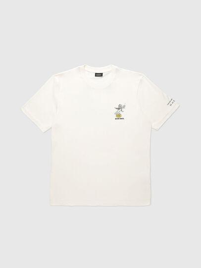 Diesel - VE-T-JUST-LEO, Blanc - T-Shirts - Image 1