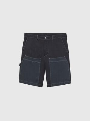 P-TRENT-SHORT, Noir/Bleu - Shorts