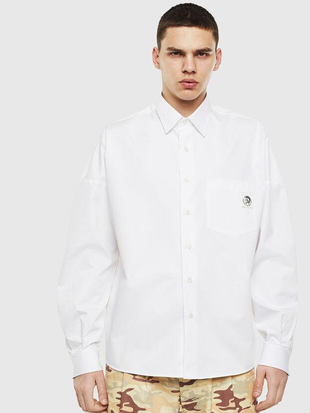 S-LOOMY, Blanc - Chemises
