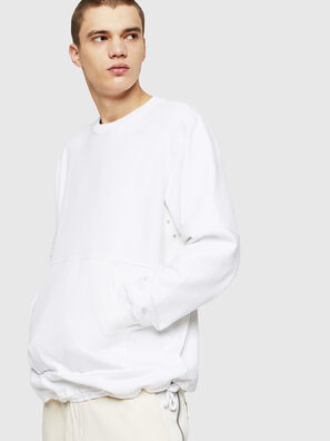 S-MENKOV, Blanc - Pull Cotton