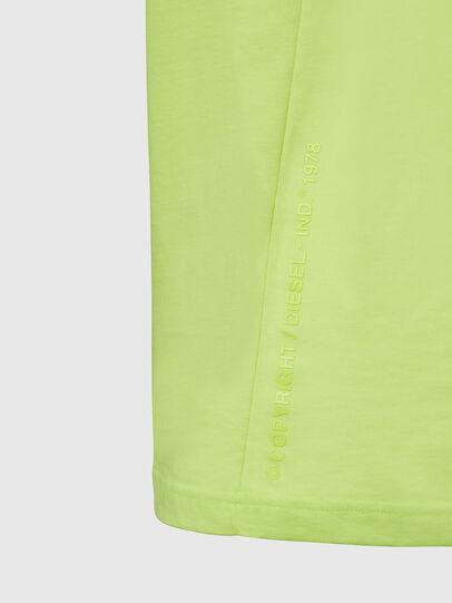 Diesel - T-MOONY-X2, Vert Fluo - T-Shirts - Image 4