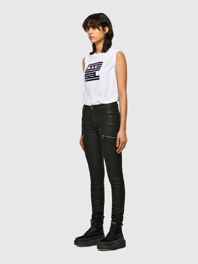 Diesel - T-SILY-K5, Blanc - T-Shirts - Image 4