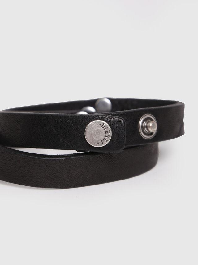Diesel - A-STUDLINE, Noir - Bijoux et Gadgets - Image 2