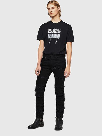 Diesel - TY-X1, Noir - T-Shirts - Image 5