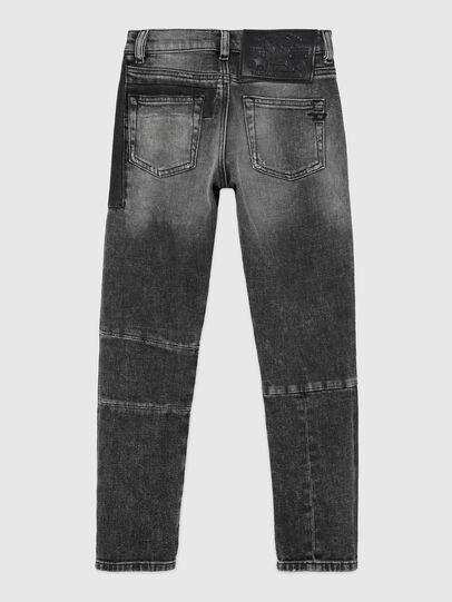 Diesel - D-STRUKT-GO-J, Noir/Gris foncé - Jeans - Image 2