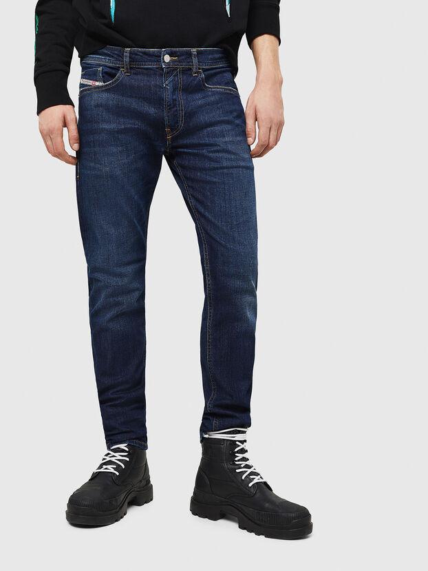 Thommer 082AY, Bleu Foncé - Jeans