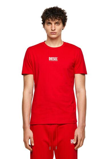 T-shirt Green Label avec petit logo imprimé