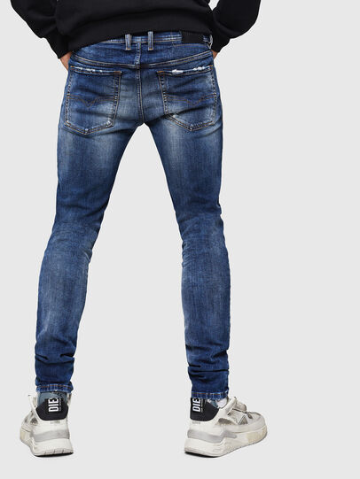 Diesel - Sleenker 069HQ, Bleu moyen - Jeans - Image 2