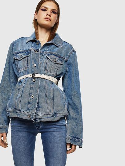 Diesel - Slandy Low 084NM, Bleu moyen - Jeans - Image 4