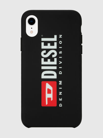 Diesel - DIESEL PRINTED CO-MOLD CASE FOR IPHONE XR, Noir/Blanc - Coques - Image 4