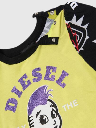 Diesel - TULLAB, Noir/Jaune - T-shirts et Hauts - Image 2