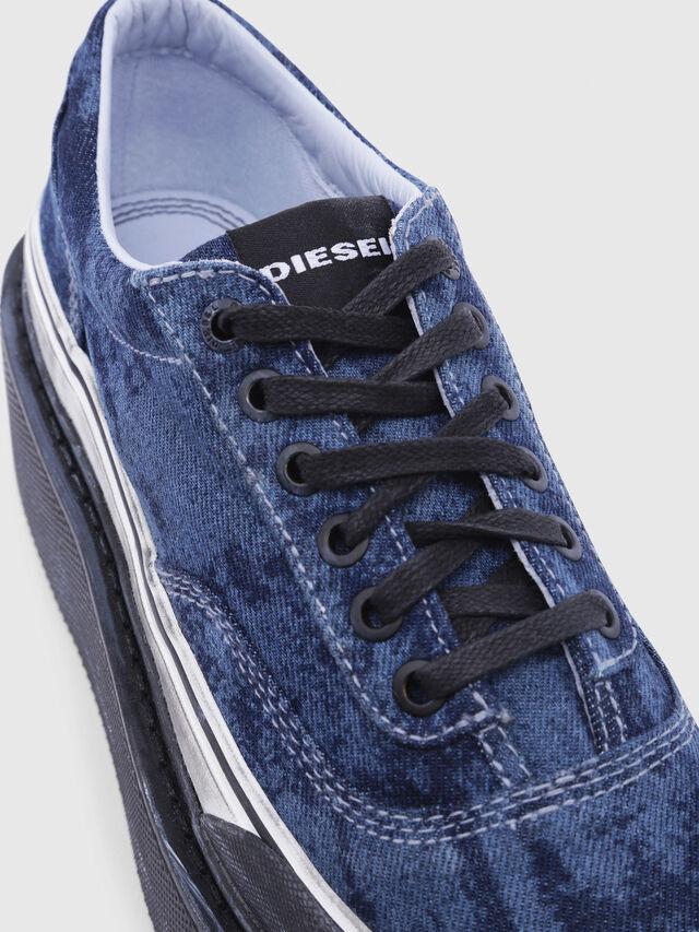 Diesel - H-SCIROCCO LOW, Bleu - Baskets - Image 4