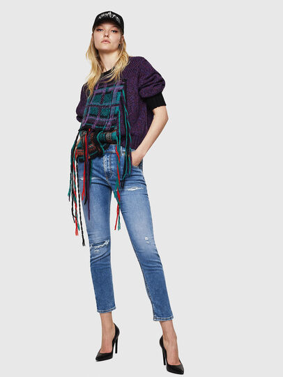 Diesel - Krailey JoggJeans 069IH, Bleu Clair - Jeans - Image 6