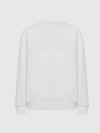 Diesel - S-GIR-DIVISION-LOGO, Blanc - Pull Cotton - Image 2