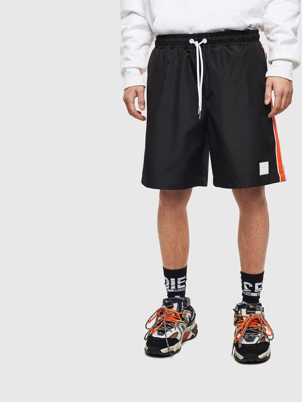 P-KEITH, Noir - Shorts