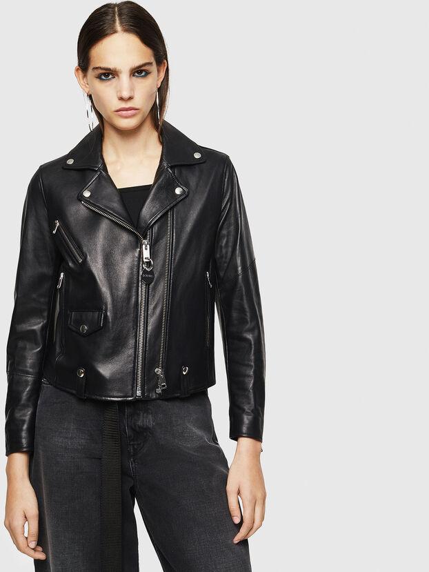 L-LYFA, Noir - Vestes de cuir