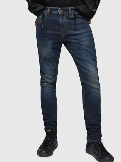 Diesel - Thommer 084AU, Bleu Foncé - Jeans - Image 1