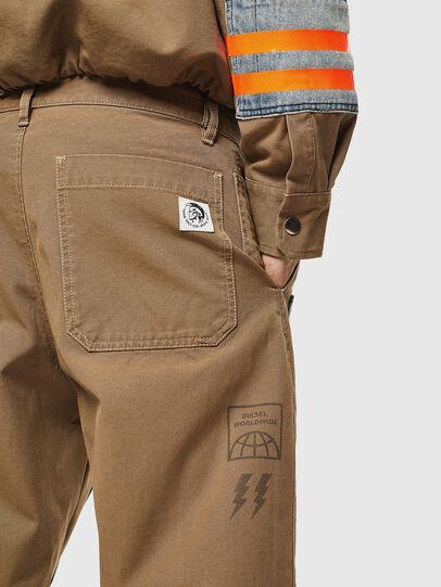 Diesel - P-CARUSO, Marron Clair - Pantalons - Image 5