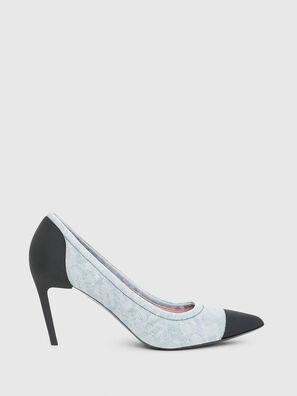 D-SLANTY MHT, Bleu Clair - Chaussures À Talon