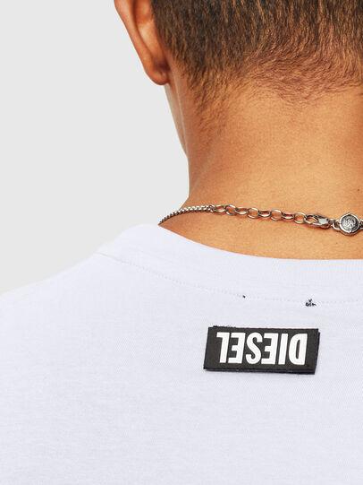 Diesel - T-DIEGO-T16, Blanc - T-Shirts - Image 3