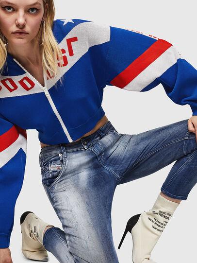 Diesel - Fayza JoggJeans 0870N, Bleu moyen - Jeans - Image 3