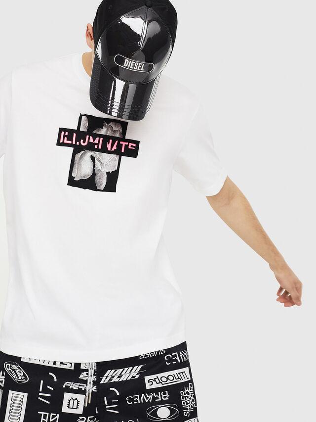 Diesel - T-JUST-Y23, Blanc - T-Shirts - Image 4