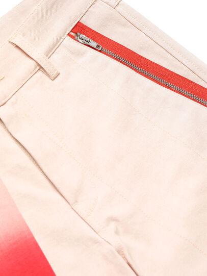 Diesel - GR02-P303-P, Blanc - Shorts - Image 4
