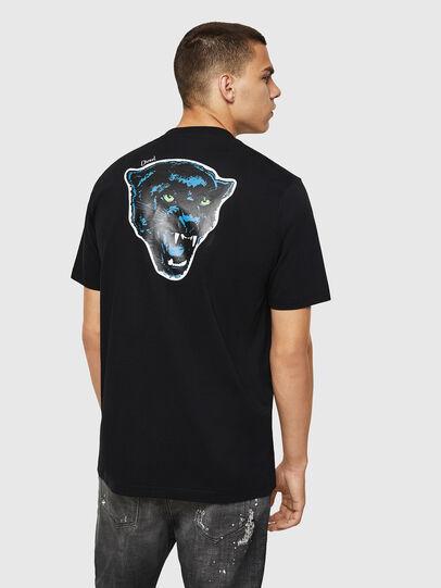 Diesel - T-JUST-B12, Noir - T-Shirts - Image 2