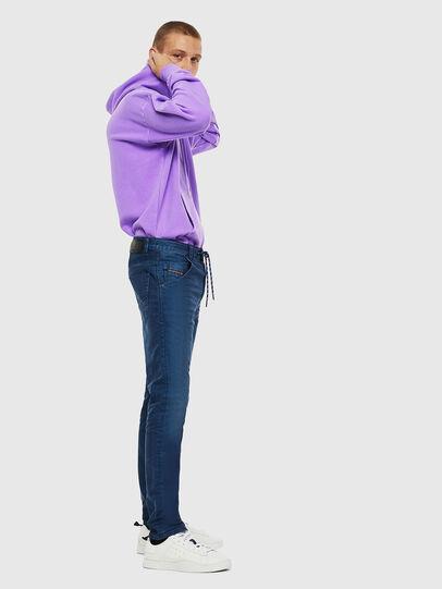 Diesel - Krooley JoggJeans 0098H, Bleu moyen - Jeans - Image 4