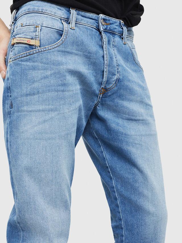 Diesel - D-Bazer 087AQ, Bleu Clair - Jeans - Image 4