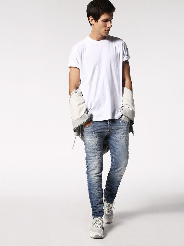Diesel - T-TERRENCE, Blanc - T-Shirts - Image 4