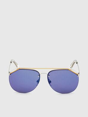 DL0314, Blanc/Bleu - Lunettes de soleil