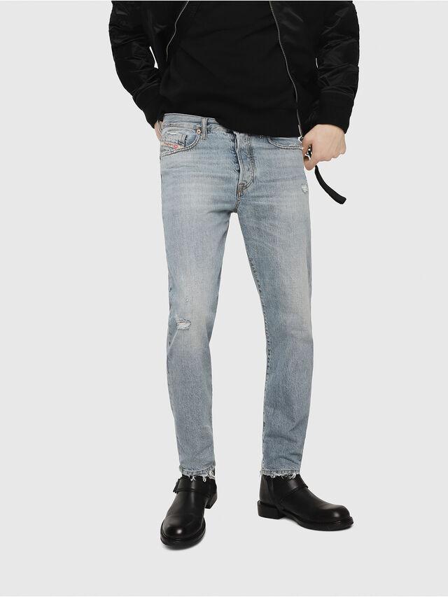 Diesel - Mharky 080AF, Bleu Clair - Jeans - Image 1