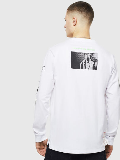 Diesel - T-JUSTLY, Blanc - T-Shirts - Image 2