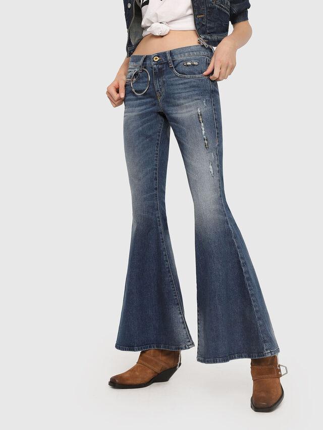 Diesel - D-Ferenz 081AN, Bleu moyen - Jeans - Image 1