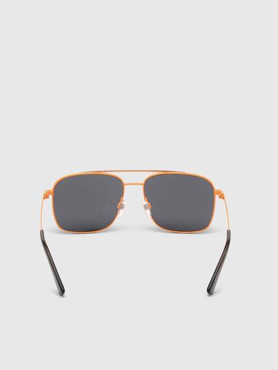 Diesel - DL0295, Orange/Noir - Lunettes de soleil - Image 4