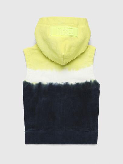 Diesel - SELBYDEEPB, Bleu/Jaune - Pull Cotton - Image 2