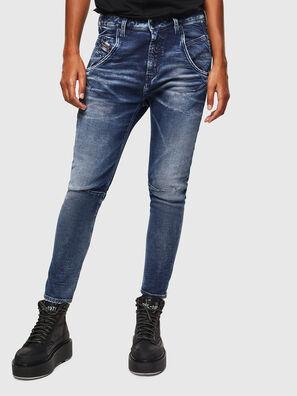 Fayza JoggJeans 0096M, Bleu Foncé - Jeans