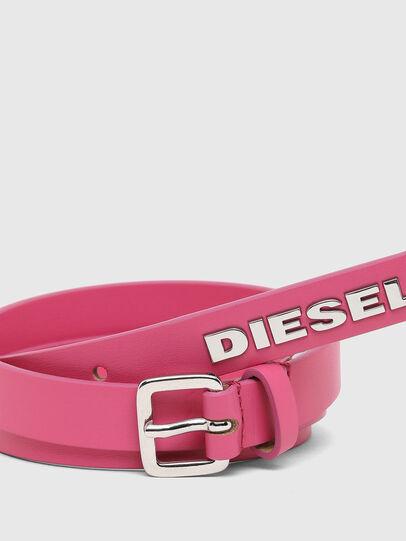Diesel - B-LOWGO, Rose - Ceintures - Image 2