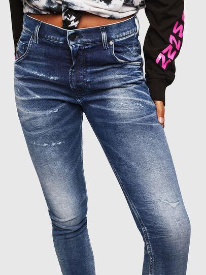 Diesel - Krailey JoggJeans 0096M, Bleu Foncé - Jeans - Image 3