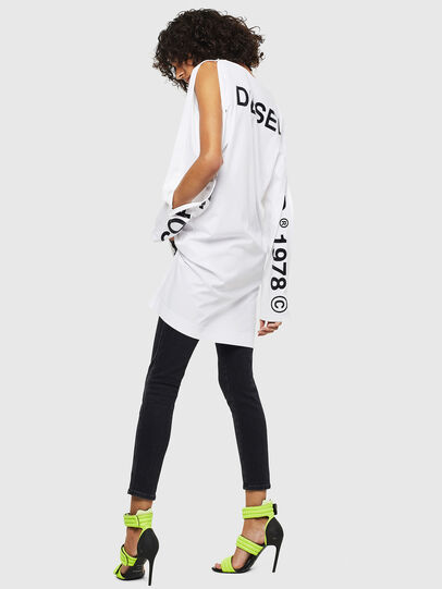 Diesel - T-ROSY, Blanc - T-Shirts - Image 5