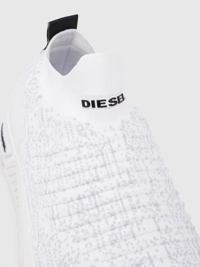 Diesel - S-KB ATHL SOCK, Blanc - Baskets - Image 5
