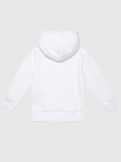 Diesel - SGIRKHOOD OVER, Blanc - Pull Cotton - Image 2