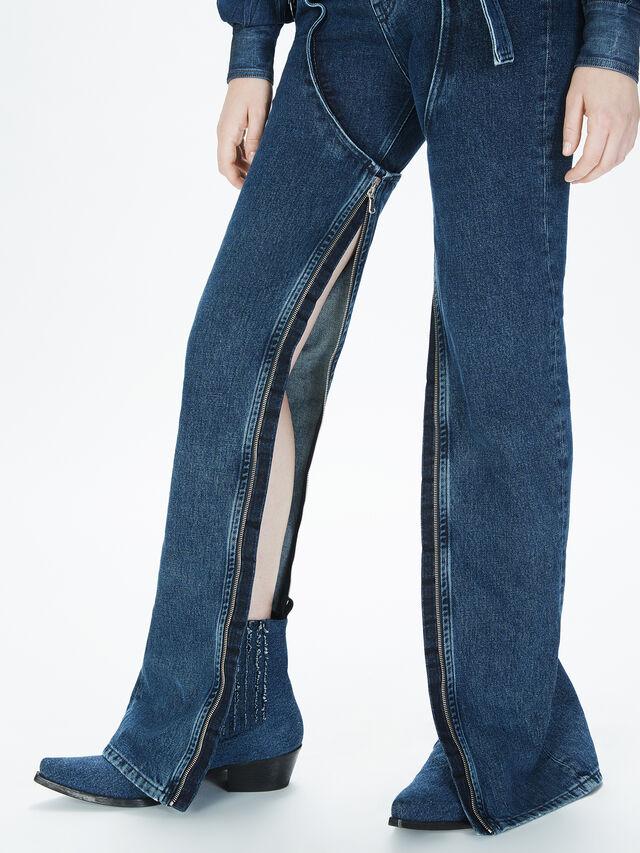 Diesel - SOCSJ01, Bleu Foncé - Pantalons - Image 5