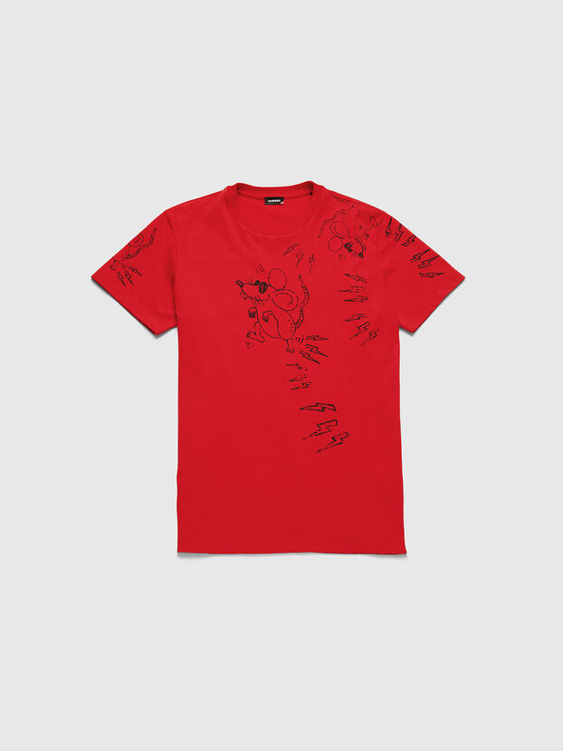 CL-T-DIEGO-3, Rouge - T-Shirts