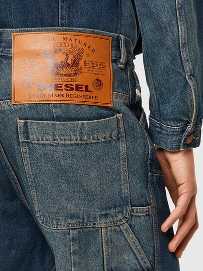 Diesel - D-FRAN-SP, Bleu moyen - Pantalons - Image 3
